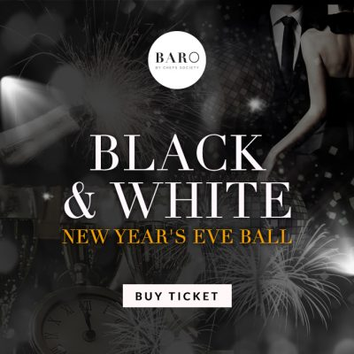 baro-nyc-korean-gastropub-nyc-black and white ball party best korean restaurant nyc full bar
